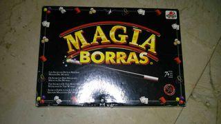 Juego de magia. Magia borras.