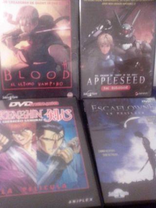 Pack 4 películas manga