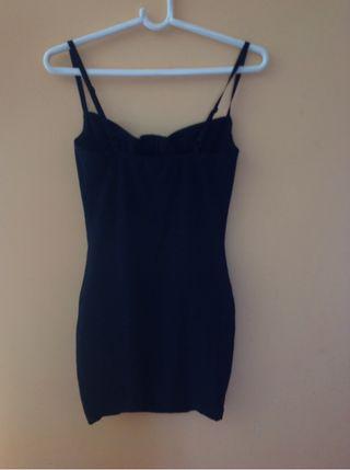 Vestido Negro De La Marca American Apparel