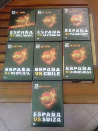Dvds Mundial 2010 España