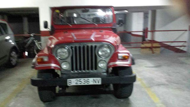 Jeep rangler historico del 81 superguai