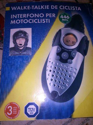Walke talkie para moto