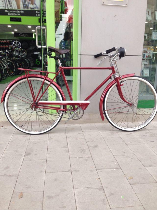 Bicicleta Clásica frenos de varilla