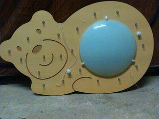 Lámpara infantil con forma de Oso
