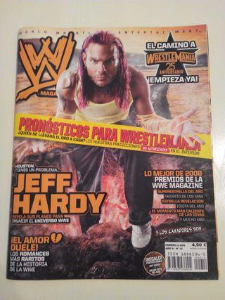 Revista WWE - Jeff Hardy