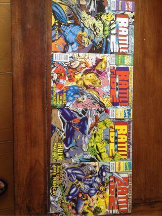 Comic battle tide II