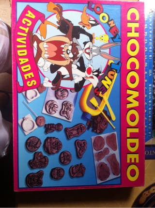 Chocomoldeo looney tunes