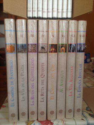 Libros_DVD rutas de España