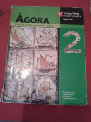 Libro Sociales 2eso Àgora
