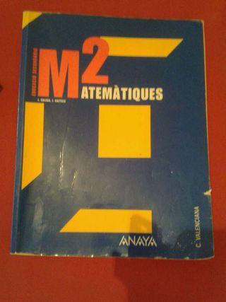 Libro Matemáticas 2eso Anaya