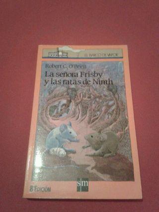 Libro Lectura La señora Frisby y las ratas de Nimh