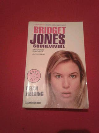 Libro bolsillo Bridget Jones Sobreviviré