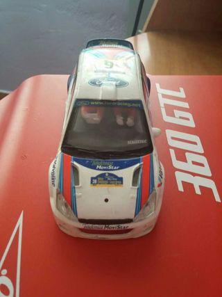 Carrocería Ford focus WRC Scalextric tecnytoys