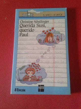 Libro Lectura Querida Susi, querido Paul