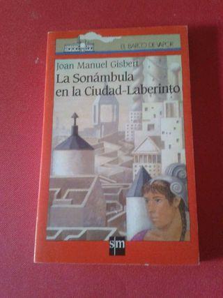 Libro Lectura La sonámbula en la Ciudad-Laberinto