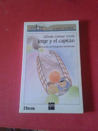 Libro Lectura Jorge y el capitán
