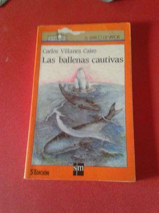Libro lectura Las ballenas cautivas