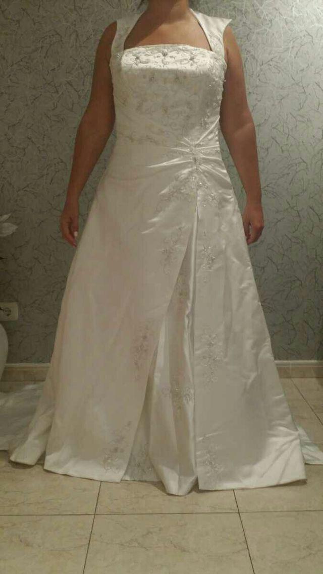 Vestido Novia Pedreria Talla 44 De Segunda Mano Por 290 En