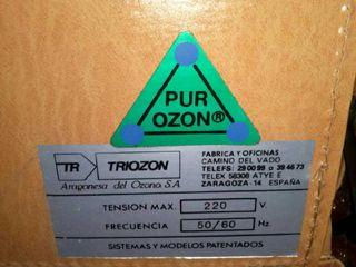 Lampara de ozono