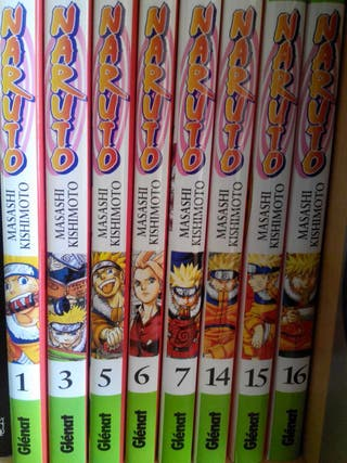 Naruto comics perfecto estado
