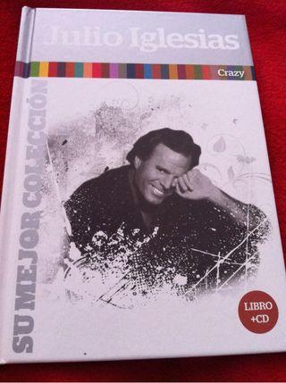 JULIO IGLESIAS CD 18 - LIBRO CRAZY