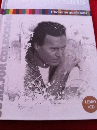 JULIO IGLESIAS CD 29 - LIBRO L'HOMME QUE JE SUIS