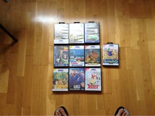 Vendo Juegos De La Sega