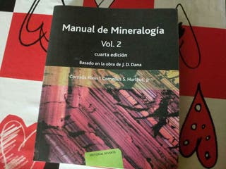 Manual mineralogía volumen 2