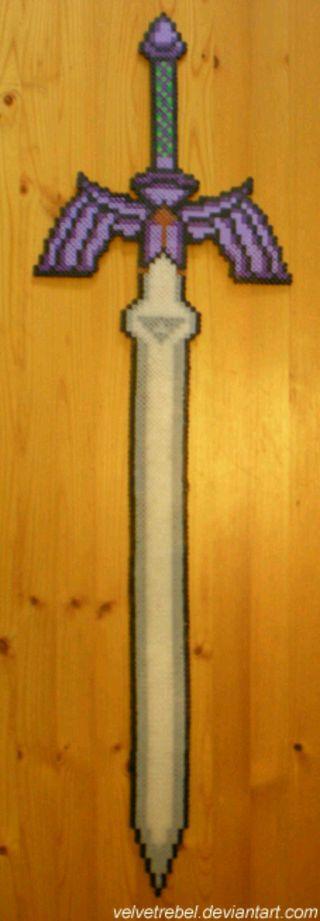 Espada maestra de legends of zelda.