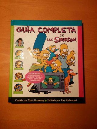 Libro guía completa de los simpsons