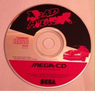 Road Avenger. MegaCD. Solo CD.