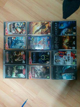 12 Juegos PSP