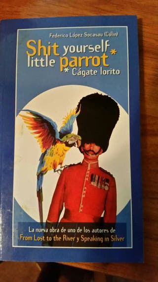 Libro Shit yourself little parrot