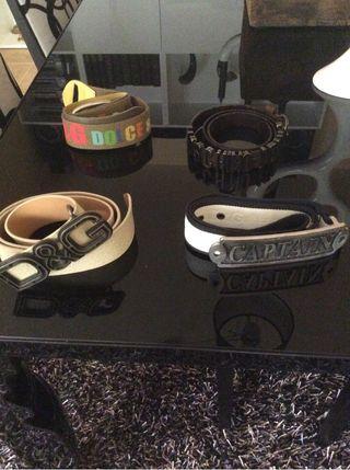 Cuatro Cinturones D&G Originales
