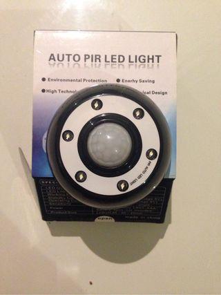 Luz led con sensor
