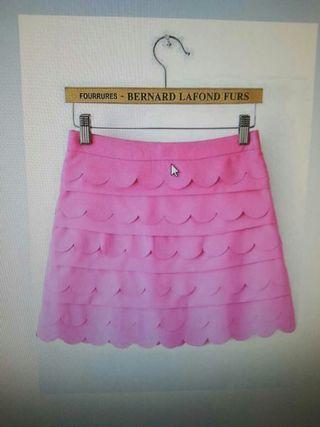 falda de volantitos