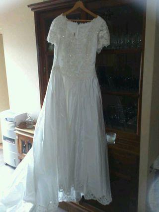 vestido de novia de segunda mano en mollet del vallès en wallapop