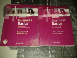 Libro y workbook Inglés con CD