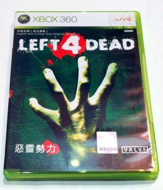 Left 4 Dead. Xbox 360. X360