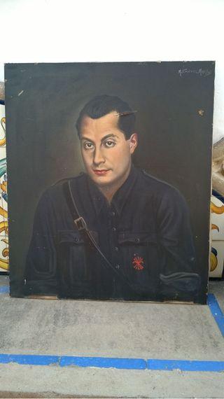 Pintura al óleo de Primo de Ribera