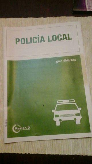 Curso de formación policía local