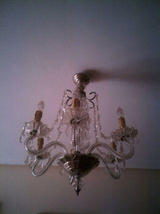 Lámpara antigua, más de 30 años, como NUEVA