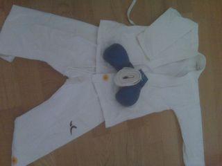 kimono karate t. 8 años sin guantes