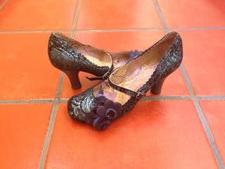 Zapatos de tacon firma
