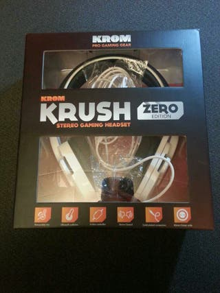 Auriculares gaming, KROM Zero edition