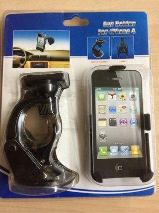 Soprte coche de calidad iPhone 4S