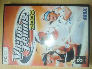 Juego PC: Virtual tennis 2009