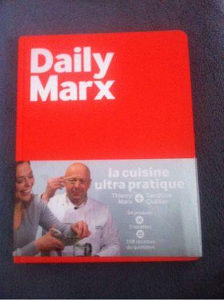 """Livre """"thierry marx et sandrine quétier"""""""