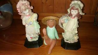 Figuras de resina y porcelana