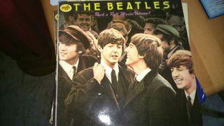 Disco de vinilo de los Beatles